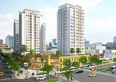 Phân phôí các dự án bất động sản