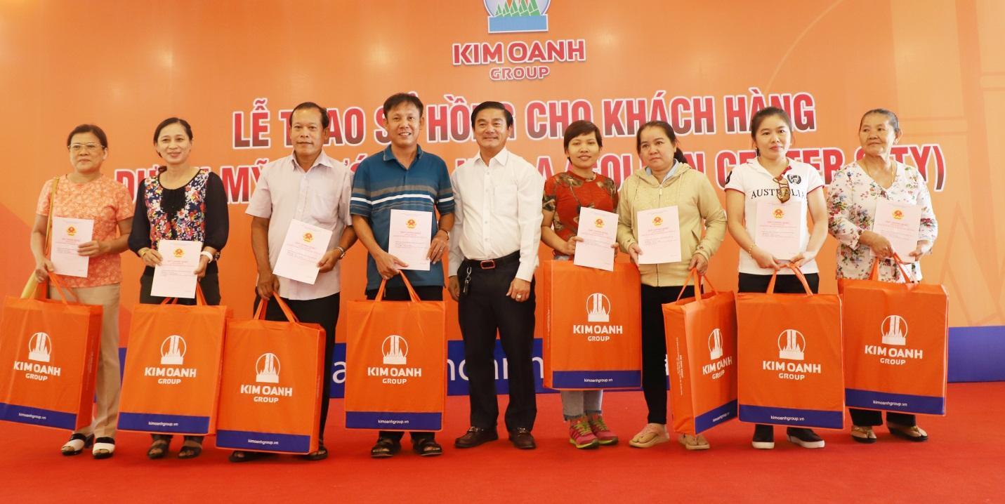 Kim Oanh Group chúc mừng 335 khách hàng nhận sổ hồng dự án Golden Center City 1