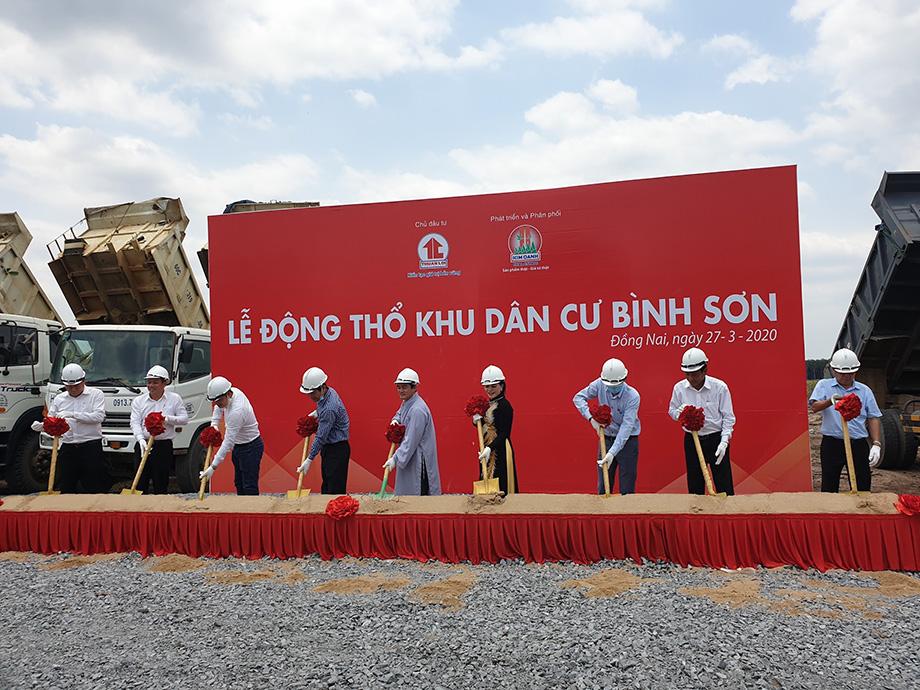 Kim Oanh Group tổ chức động thổ dự án khu dân cư quy mô 49,8 ha tại Long Thành