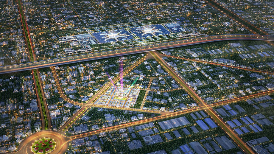 """Kim Oanh Group công bố khu đô thị ngay trung tâm """"thành phố sân bay"""""""